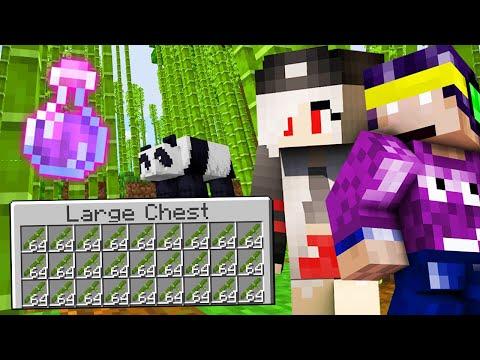 UITE ASA se face LAG pe Minecraft (TONE DE BAMBUS)