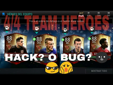 FIFA Mobile Pack Opening 4/4 TEAM HÉROES 😎 ¿New Hack?