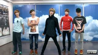 SHINee - Sherlock (dance tutorial) DVhd
