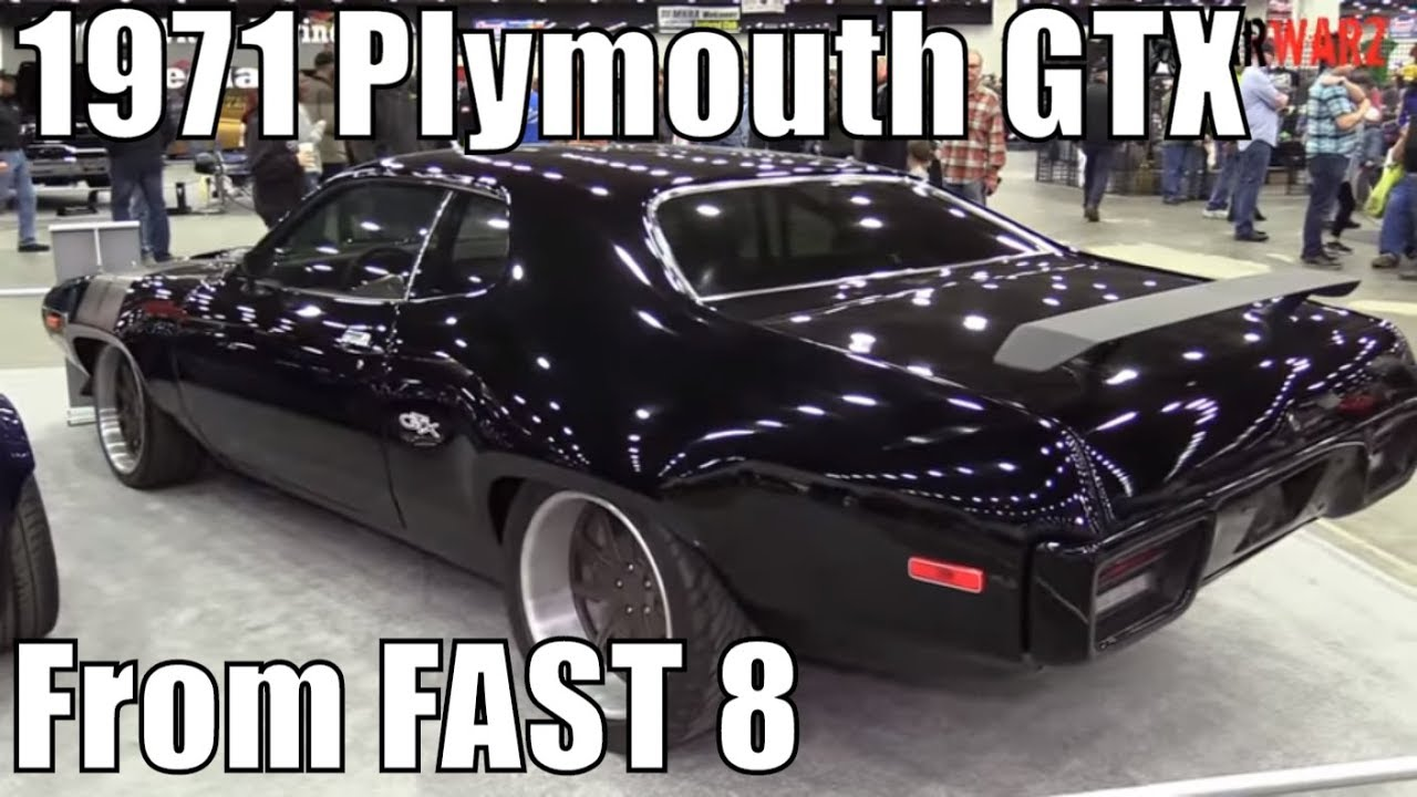 1971 plymouth gtx from fast and furious f8 at the 2018 autorama car show youtube. Black Bedroom Furniture Sets. Home Design Ideas