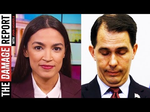 Alexandria Ocasio-Cortez Takes Scott Walker To School