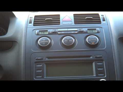 Ukryte menu serwisowe w VW Climatronic (Golf, Passat, Jetta