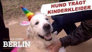 Warum trägt ein Hund die Kleider eines vermissten Mädchens? | Auf Streife - Berlin | SAT.1 TV
