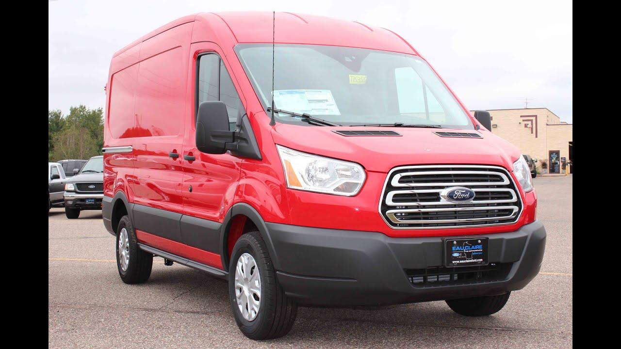 2016 ford transit 250 3 door medium roof cargo van youtube. Black Bedroom Furniture Sets. Home Design Ideas