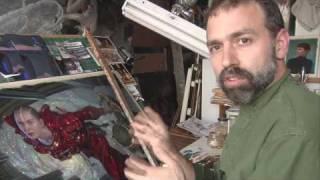 Donato Giancola - The Mechanic - Oil Painting