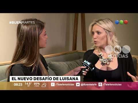 Luisana Lopilato y el desafío más importante de su carrera  Buen Telefe