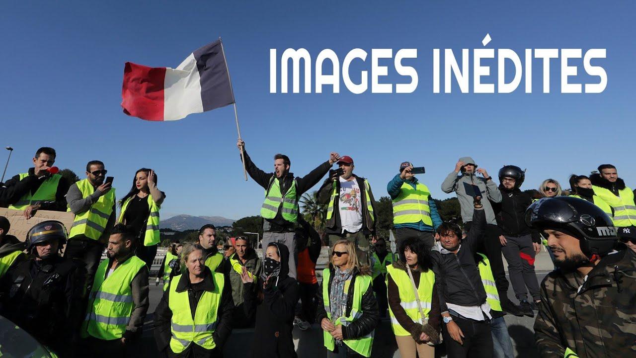 Les gilets jaunes du 17 Novembre dans toute la France