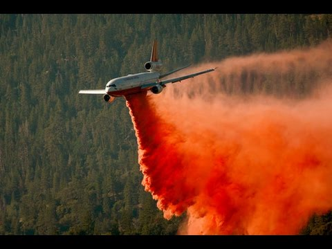 Aerial firefighting, air tankers and helicopters - Video HD 2017