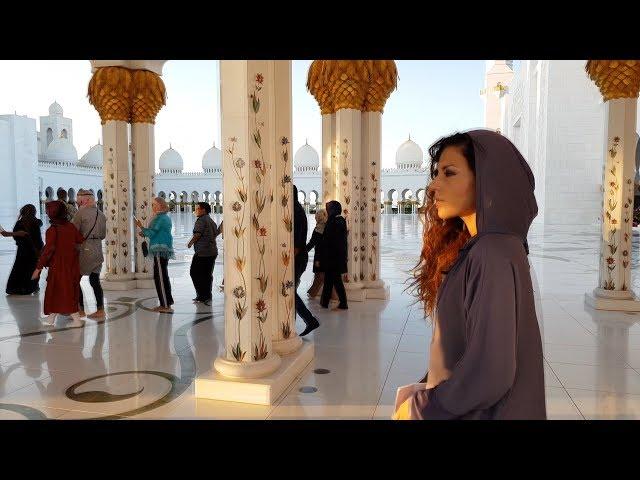100 Híres épület a világban - 6. rész Zayed Sheikh mecset | Tamás Anita