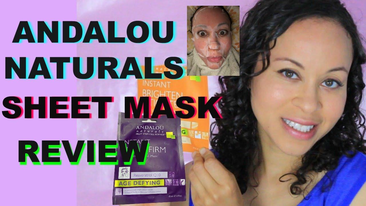 Brightening Pumpkin Honey Glycolic Mask by andalou naturals #8