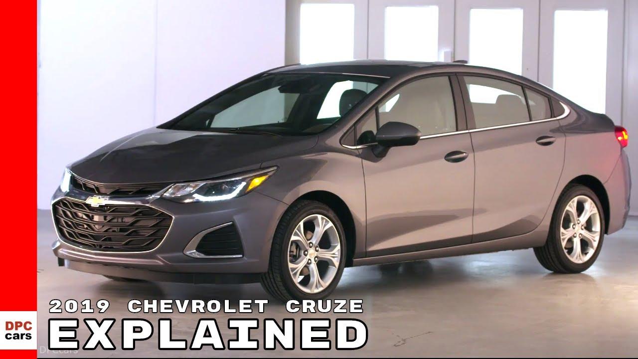 2019 Chevrolet Cruze Sedan Premier Youtube