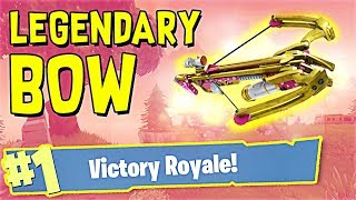 *NEW* UPDATE! - Crossbow VICTORY in Fortnite Battle Royale