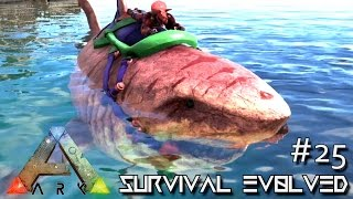 ark survival evolved under the sea taming season 3 s3 e25 gameplay