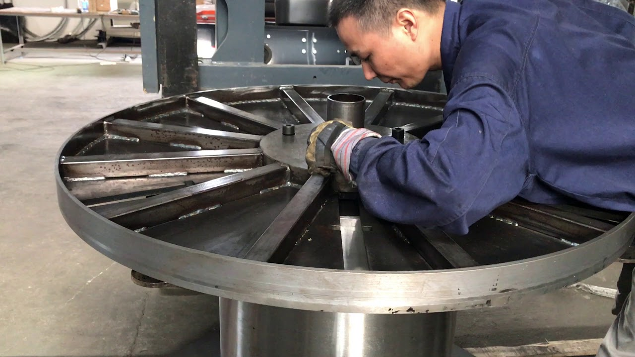 1250mm customized Collapsible Cable Spool - YouTube