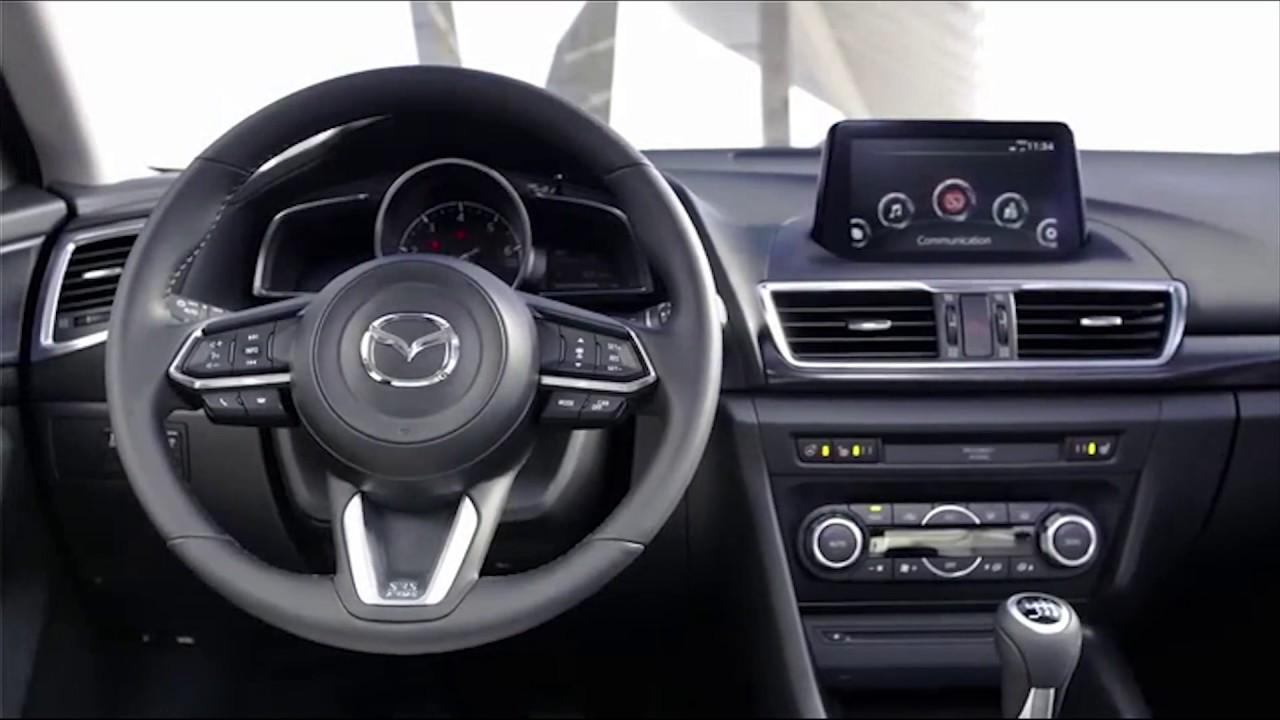 2017 Mazda 3 Hatchback Soul Red High Grade Interior Design Automototv You