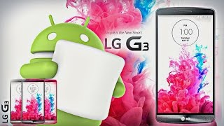 Como atualizar o LG G3  para android 6.0 Marshmallow  / modelo D855