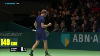 Jo-Wilfried Tsonga v David Goffin: 2017 Rotterdam Final ATP Tennis Highlights