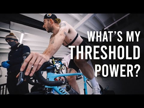 Finding Out my Threshold Power - FTP & Lactate Threshold Explained