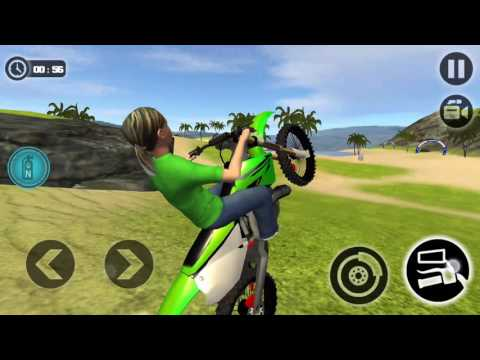 Kids Water Surfer Motorbike Racing - Beach Driving | level 8 9 10