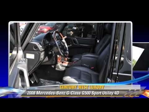 2008 Mercedes-Benz G-Class G500 – Studio City