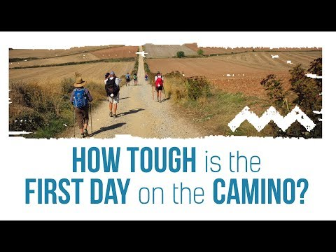 How Difficult is the First Day on the Camino?