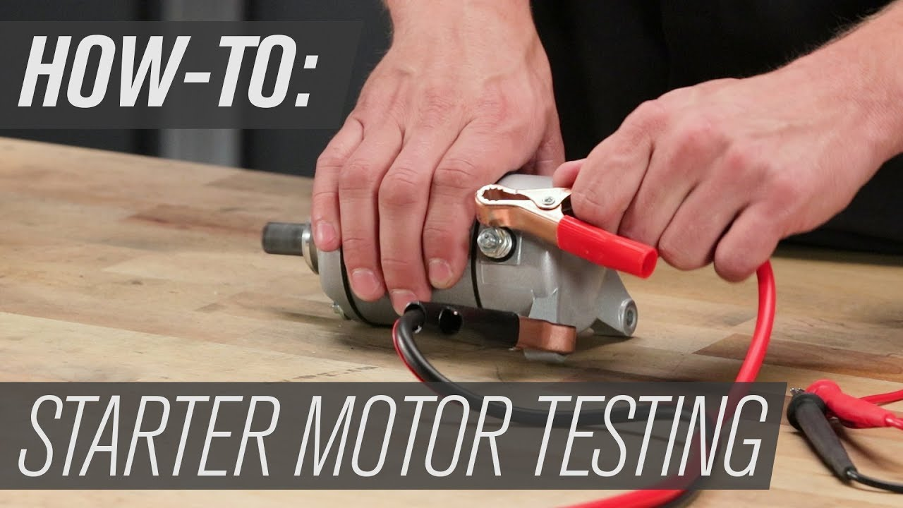 How To Bench Test Starter Motor Solenoid Ford