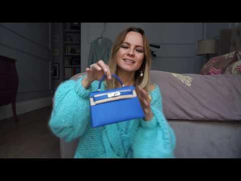 Hermes Mini Kelly 20 unpacking and review / Распаковка и обзор Hermes Mini Kelly 20