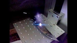 Лазерная гравировка на ножах. Волоконный станок 20w Заработок дома(, 2015-12-05T18:09:50.000Z)