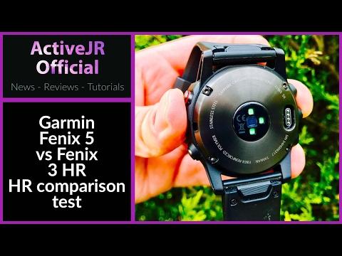 Garmin Fenix 5 Vs Fenix 3 Optical Wrist HR Accuracy Comparison // How Accurate Is It?