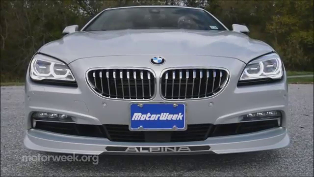 MotorWeek Road Test BMW Alpina B Gran Coupe YouTube - Bmw alpina b6 biturbo price