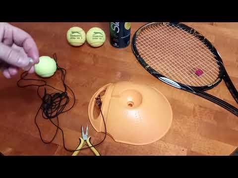 Тренажер для игры в большой теннис (Tennis Training Tool) | Чемпион Берлина