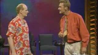 Whose line - What are you trying to say?