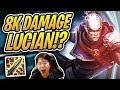 8000 DAMAGE LUCIAN WTF?! | Statikk Shiv & Gunslingers |  Teamfight Tactics | TFT | LoL Auto Chess