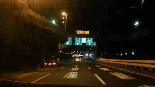 首都高速C1一周 Tokyo highway night drive