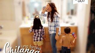 "PRUEBA DE EMBARAZO EN VIVO!! VLOGS DIARIOS #357 ""Una Familia Chilanga"""