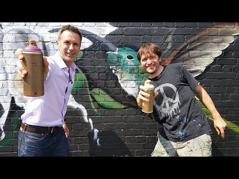 Could robots replace graffiti artists? - BBC Click