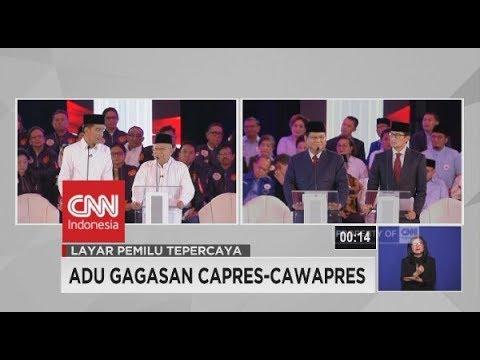 Pemaparan Korupsi & Terorisme Di Debat Perdana Capres-Cawapres 2019 - Segmen 3/6