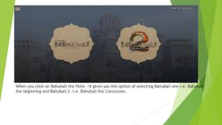 Bahubali Official Website Review - Free download 1