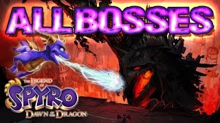 Legend of Spyro: Dawn of the Dragon All Bosses | Final Boss (X360, PS3, PS2, Wii)