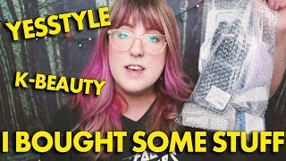 YESSTYLE HAUL  |  Tonymoly, Peripera, and a galaxy mousepad...seriously.