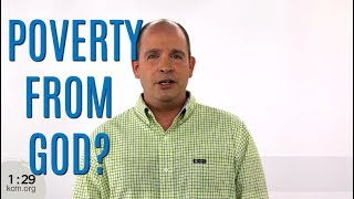 Is Poverty God's Will? Ministry Minute
