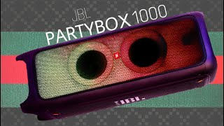 JBL PARTYBOX 1000 - PRICE, SPECS,FEATURES