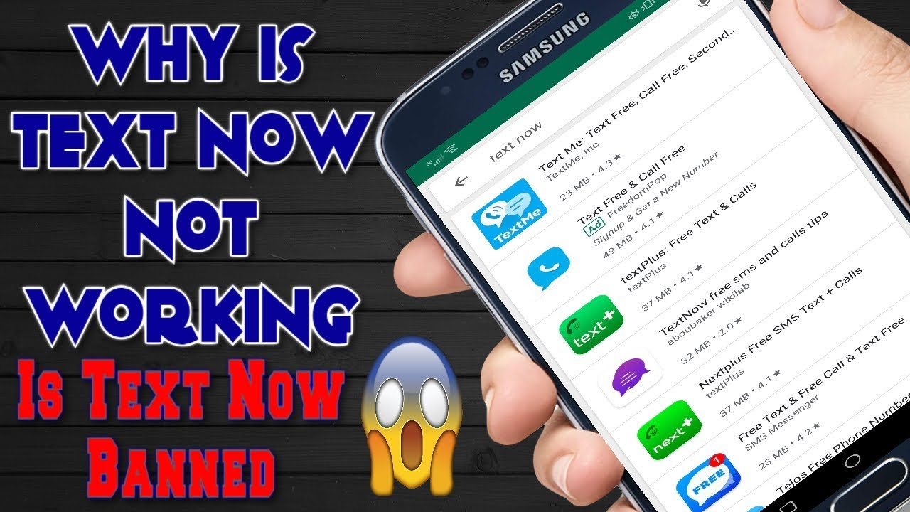 Textnow Number Banned WhatsApp | Why Is Text Now Not Working & Is Textnow  Banned