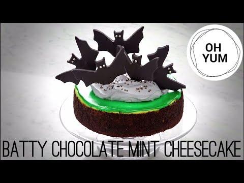 Batty Chocolate Mint Cheesecake  Anna Olson