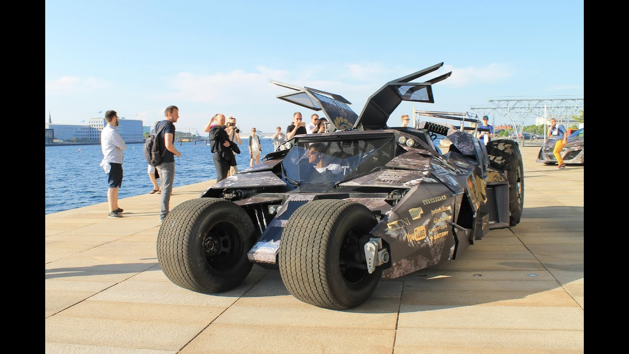 Gumball 3000 Batmobile Tumbler Youtube
