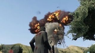 GTA V: Explosions Gameplay