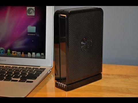 Seagate FreeAgent GoFlex Desktop HDD (On A Mac!): Unboxing & Demo