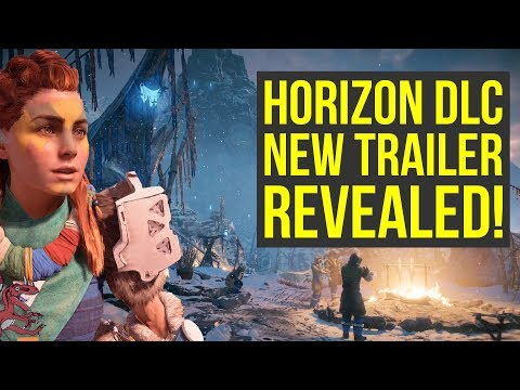 Horizon Zero Dawn DLC NEW TRAILER SHOWN - Full Breakdown! (Horizon Zero Dawn Frozen Wilds Trailer)