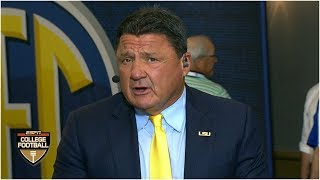 Ed Orgeron: LSU secondary the best he's ever been a part of | SEC Media Days | College Football Live