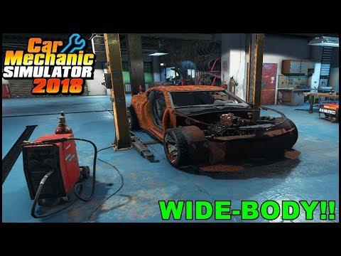 JUNKYARD CAMARO WIDE-BODY FIND - Car Mechanic Simulator 2018